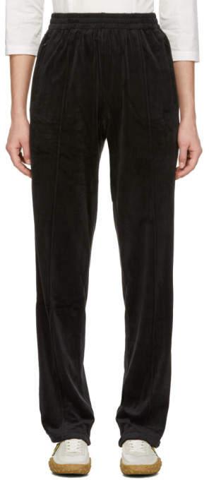 Black Torch Velour Lounge Pants