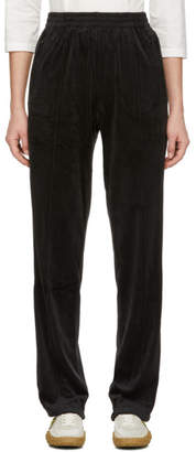 Opening Ceremony Black Torch Velour Lounge Pants