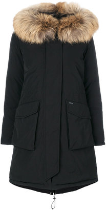 Woolrich Military parka coat $1,270 thestylecure.com