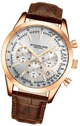 Stuhrling Original Men Quartz Chronograph Date Watch