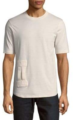 Helmut Lang Tab Short-Sleeve Cotton Tee