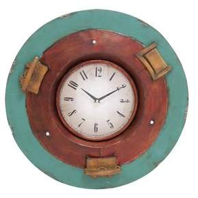 Benzara 21 in. Dia. Wall Clock