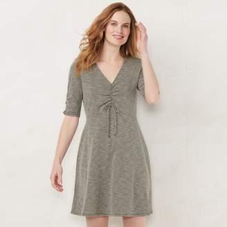 aebe9bb20a Lauren Conrad Women s Print Fit   Flare Dress