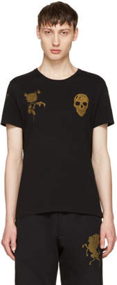 Alexander McQueen Black Bullion T-Shirt