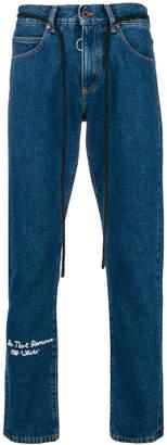 Off-White 5 pocket jeans