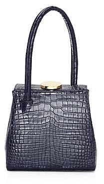 Little Liffner Women's Mademoiselle Croc-Embossed Leather Top Handle Bag