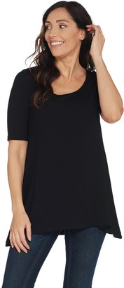 Linea By Louis Dell'olio by Louis Dell'Olio Short Sleeve Swing Top
