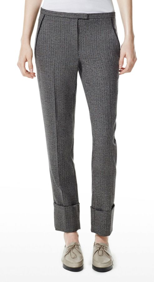 Theory Indra C Pant in Tremont Wool