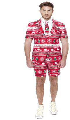 OppoSuits Winter Wonderland Men Summer Suit