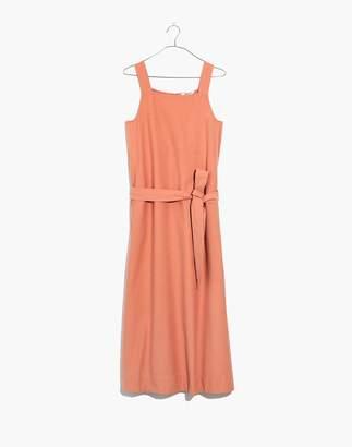 Madewell Apron Tie-Waist Dress