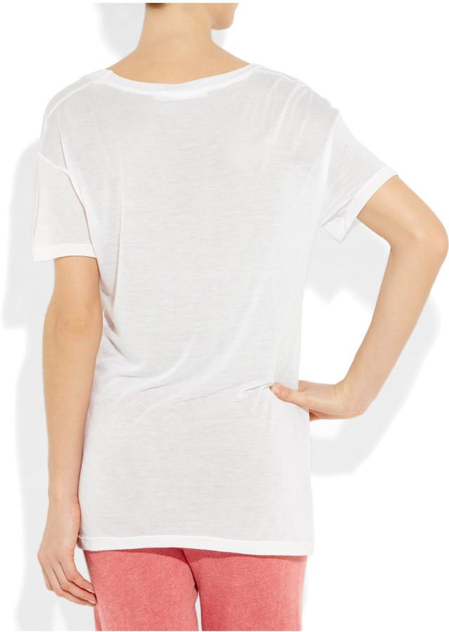 Kain Label Modal and silk-blend T-shirt