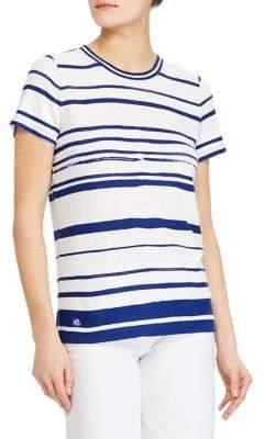 Lauren Ralph Lauren Striped Jersey Top