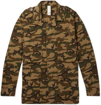 MAN 1924 - Camouflage-Print Cotton-Ripstop Field Jacket