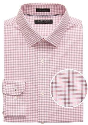 Banana Republic Camden Standard-Fit Non-Iron Check Dress Shirt