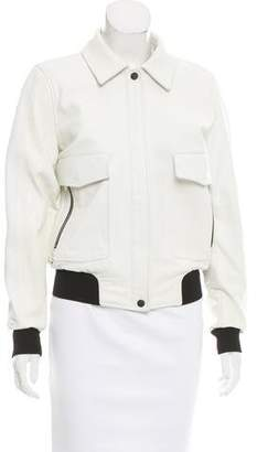 Rag & Bone Embossed Leather Jacket