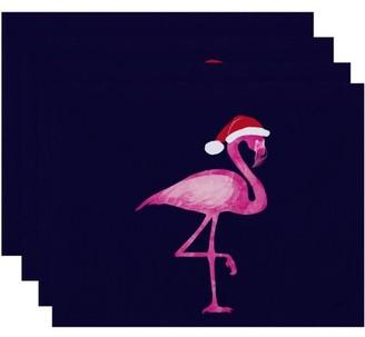 Holiday Essence Snow Bird Animal Print Placemat