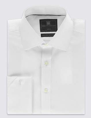 Marks and Spencer Pure Cotton Non-Iron Twill Slim Fit Shirt