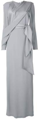 Chalayan long draped dress