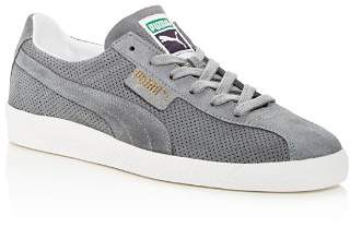 Puma Men's Te-Ku Summer Perforated Suede Lace Up Sneakers