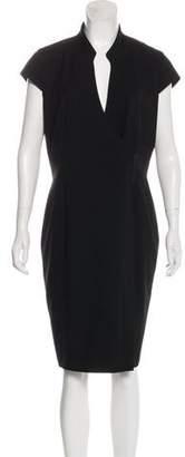 Calvin Klein Tonal Knee-Length Dress