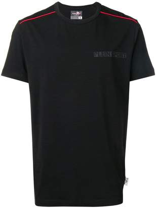 Plein Sport contrasting piping T-shirt
