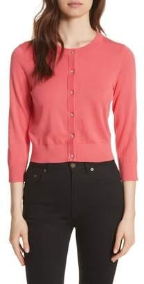 Kate Spade Jewel Button Crop Cardigan