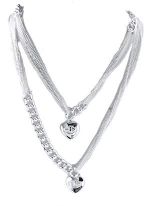 GUESS UBN41005 Women's Necklace – Stainless Steel – Silver – 120 cm