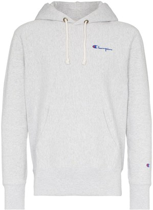 Champion contrast logo hoodie