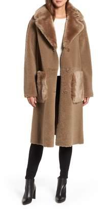 HiSO Genuine Merino Shearling Coat