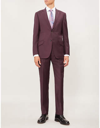 Richard James Single-breasted tailored-fit wool suit