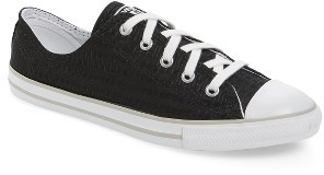 Women's Chuck Taylor All Star Dainty Low Top Sneaker $59.95 thestylecure.com