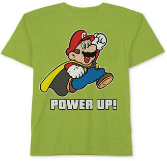 Nintendo Mario Graphic-Print T-Shirt, Little Boys
