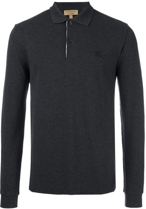Burberry long sleeved polo shirt $183.76 thestylecure.com
