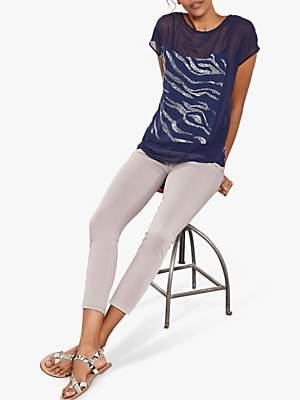 Mint Velvet Orlando Mink Skinny Jeans, Neutral