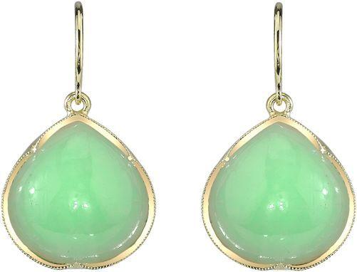 Irene Neuwirth Teardrop Earrings-Colorless