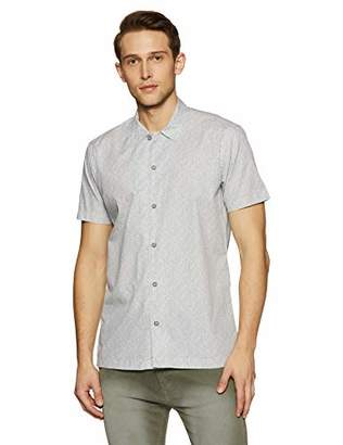 Casual Terrains Men's Classic- Fit Short-Sleeve Camp Shirt