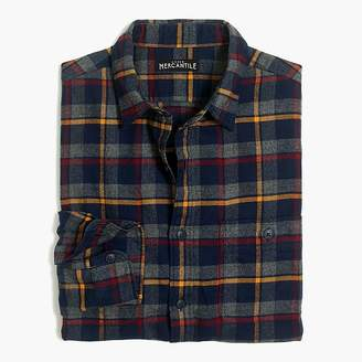 J.Crew Mercantile Heather flannel shirt in plaid