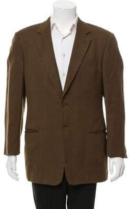 Giorgio Armani Wool Two-Button Blazer