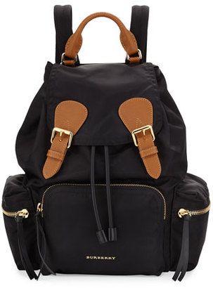 Burberry Nylon Backpack, Black $1,350 thestylecure.com