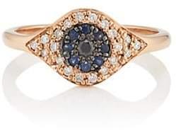 Ileana Makri Women's Cat's Eye Ring - Blue
