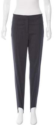 Halston Mid-Rise Stirrup Pants w/ Tags