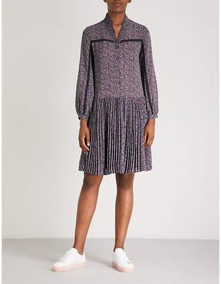 Claudie Pierlot Paisley-print chiffon dress