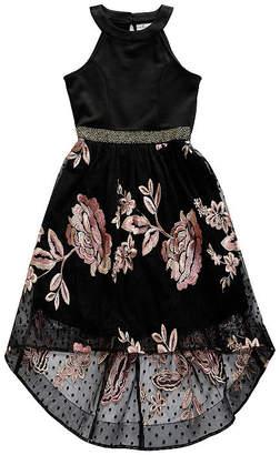 EMILY WEST Emily West Sleeveless Floral Maxi Dress - Big Kid Girls