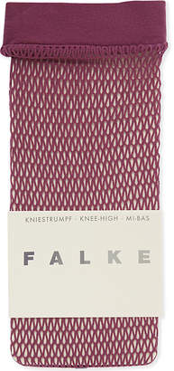 Falke Fishnet knee-high socks
