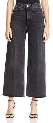 Rag & Bone Haru High-Rise Wide-Leg Jeans in Asa