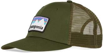 Patagonia Shop Sticker Patch Trucker Cap