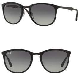 Ray-Ban Lite Havana Square Sunglasses