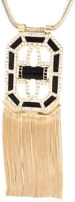 Etro Fringe Pendant Necklace