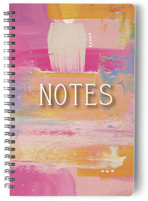 Brighten Up Your Notes Self-Launch Notebook