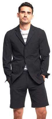 Todd Snyder Unconstructed Spectator Sportcoat In Charcoal Micro Stripe